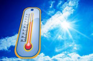 Te warm om te werken?